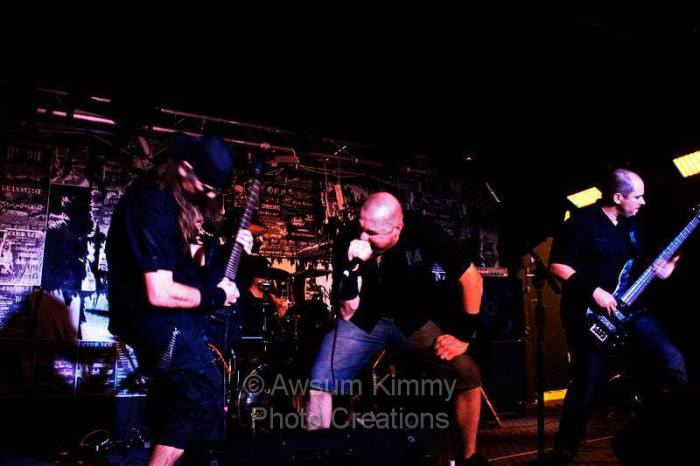 Carbon Black!!  From left to right: Damon Bishop, Gus Sassi, John Hurley, Rob Giles. Photo by Awesum Kitty Photo Creations
