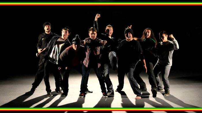 CHUPAROSA!!  From Left to Right: Tim Dennis, Kyle Eardley, Mark Rozab Meleisa, Isaac Beard, Tayplain, Michael Beckett, Marc Tahiti Richardson, and Kyle Jacobs! Photo by Tim Dennis.