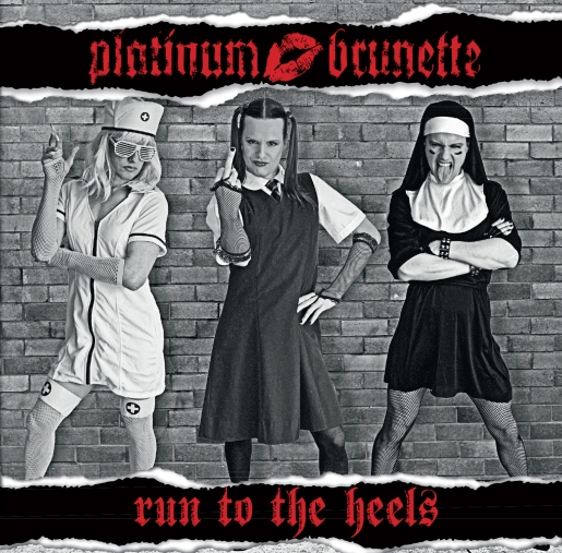 "Platinum Brunette release their new EP, ""Run to the Heels.""  From Left to Right: Britney Houston, Demonica Lewinsky, and Magda Marylene.  Photo courtesy of Platinum Brunette."